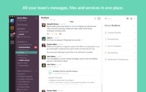 Slack è un tool che permette di lavorare a team distribuiti